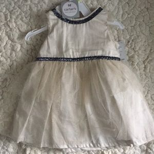 Carters Ivory Tulle Party Dress